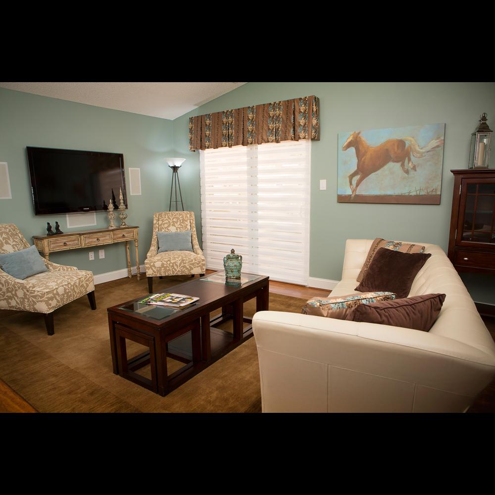 Living room photo for senior living website