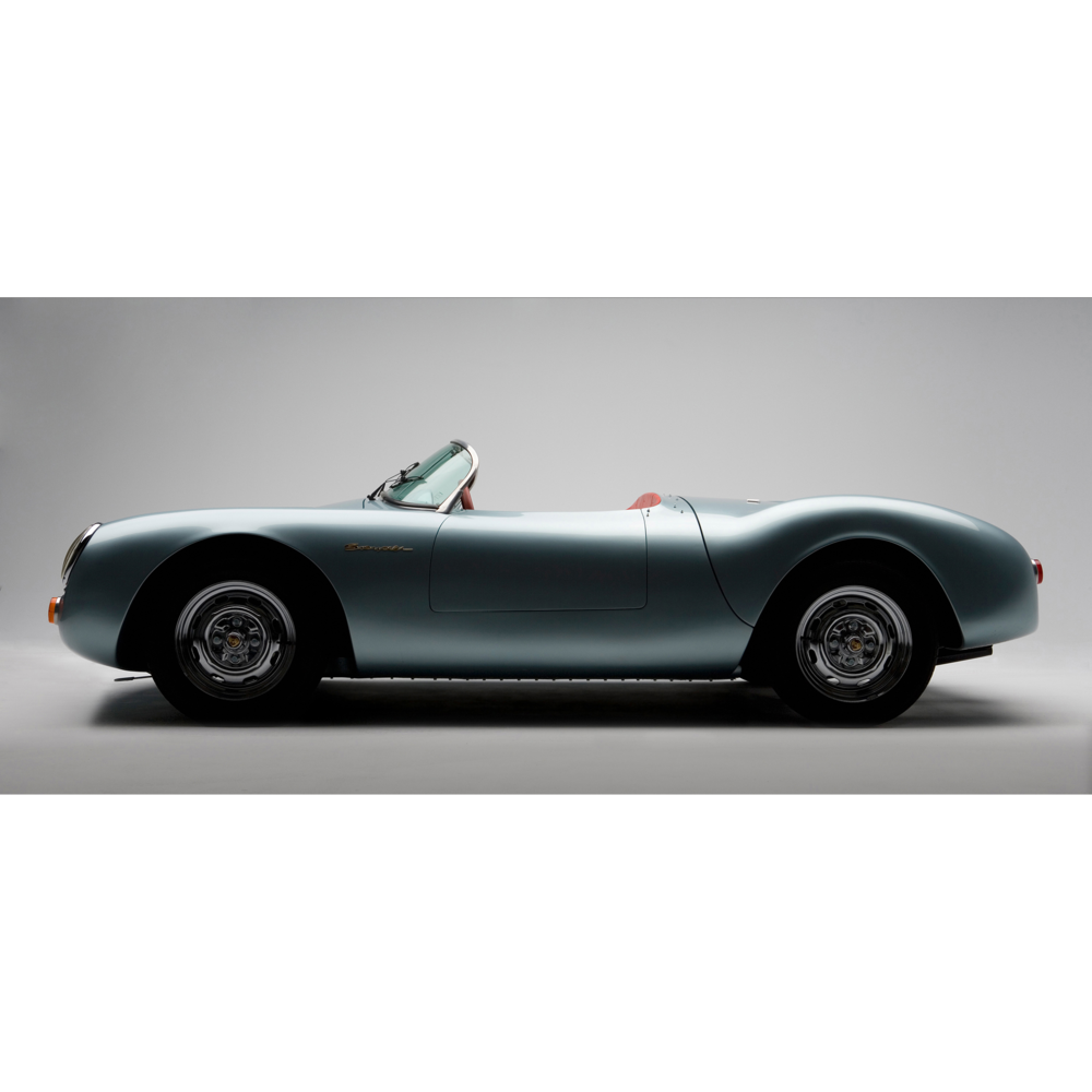 Porsche 550 Spyder photographed in studio by Craig Anderson Photography Inc