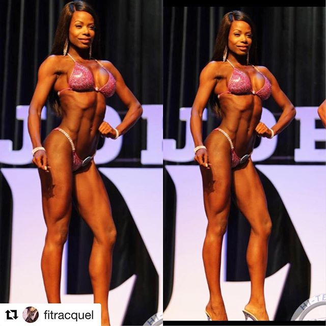 ❤️❤️❤️❤️ #Repost @fitracquel with @get_repost ・・・ #OlympiaAmateur ♣️♥️ LAS VEGAS♥️♣️---Finally found a stage photo. Im still on cloud 9 y'all. Once again- can't say it enough, how thankful I am. The struggle was real this prep. I can't even list everything that went wrong- list it too long. At the end of the day I did step on stage. I think the most rewarding thing is being recognized by a panel full of top level US judges. The female head judge telling me she loved my look. For now I've been eating and loving it. Until next time. I will never forget where the journey started @aroundtheopa . Thanks to my coach for always believing in me. Thank you to my sponsor @bikinifitcanada .Also, the amazing Jae with @martinispraytan for my tan. Thank you, Thank you, Thank you🥇🏆🥇🏆i