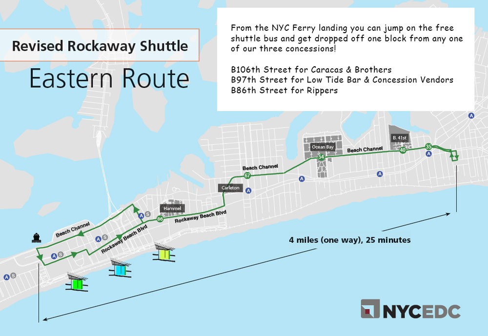 Map courtesy of NYCEDC