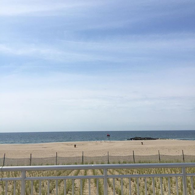 Sunny and 79 degrees at Beach 74th Street. Plant yourself in the sand and get a tan. #rockawaybeach #spendthedayinrockaway