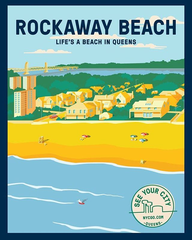 The sun is peaking out and it's going to be a great beach day in Rockaway! Come visit us at one of the three concessions!  Great Food / Drinks! Open late with entertainment! Check out our website to see how you can #spendthedayinrockaway !