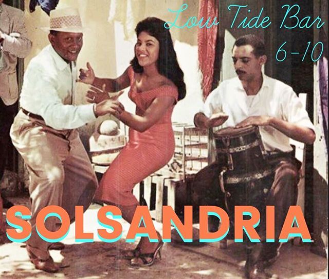 Tonight at @lowtidebar97 ! Salsa! 💃💃💃