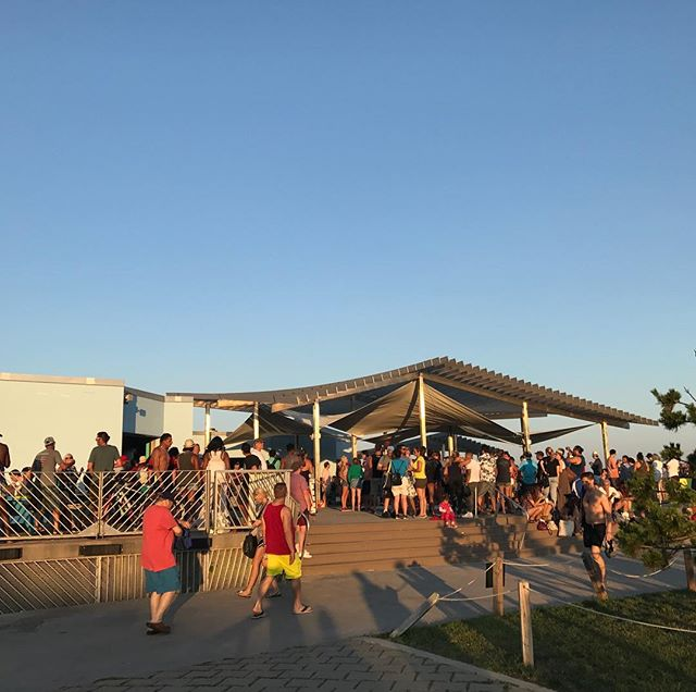 A beautiful Labor Day night at Beach 97th Street Concession! WE ARE OPEN TOMORROW! ALL THREE CONCESSIONS!!!! We are 100% open everyday till Sept 10th- concession schedules vary! Come support us these last few weeks! Thanks for an awesome summer!