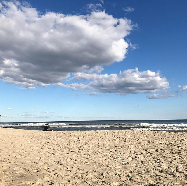 So grateful for a beautiful day in Rockaway and keeping all of those affected by Harvey and Irma in our thoughts. 🙏🏻🙏🏻🙏🏻