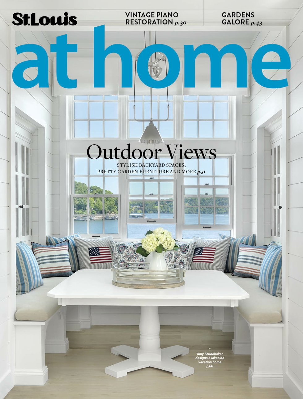 STL Summer Style AT HOME St. Louis Magazine - May/June 2017