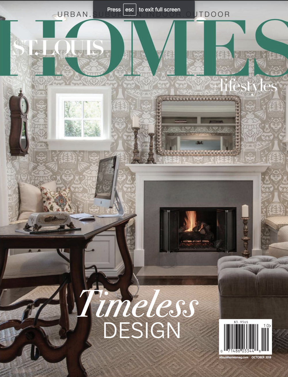 St. Louis Homes & Lifestyles Design Hall of Fame 2018 . *Click to Read