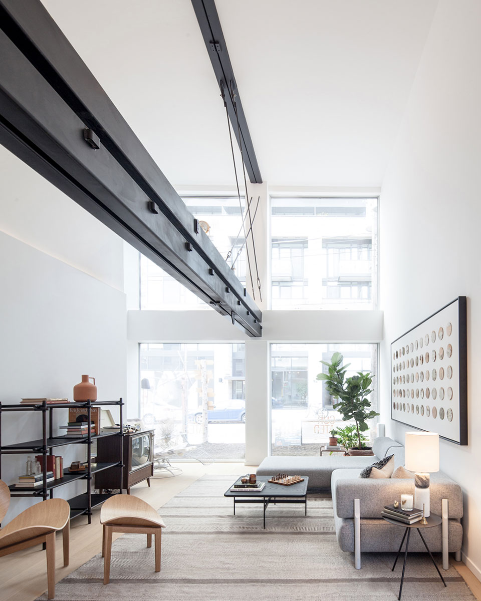 Cabin Residences  is a minimalist house located in Toronto, Canada, designed by  Mason .