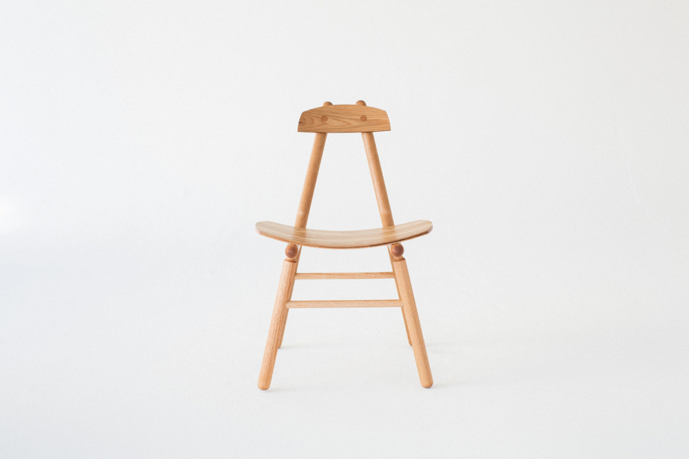 Hiro Chair is a minimalist design created by Los Angeles-based designer De JONG & Co.
