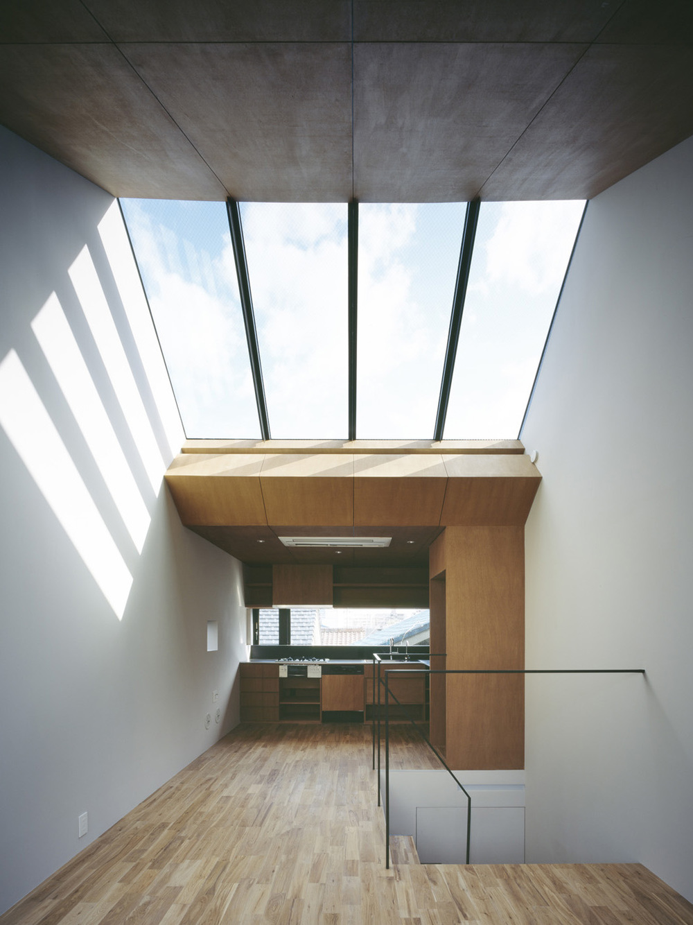 Nest is a minimalist residence located in Nagoya, Japan.
