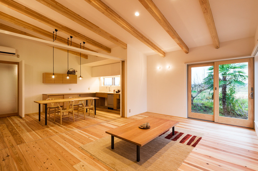 W-House is a minimalist residence located in Niigata, Japan, designed by N Sketch.