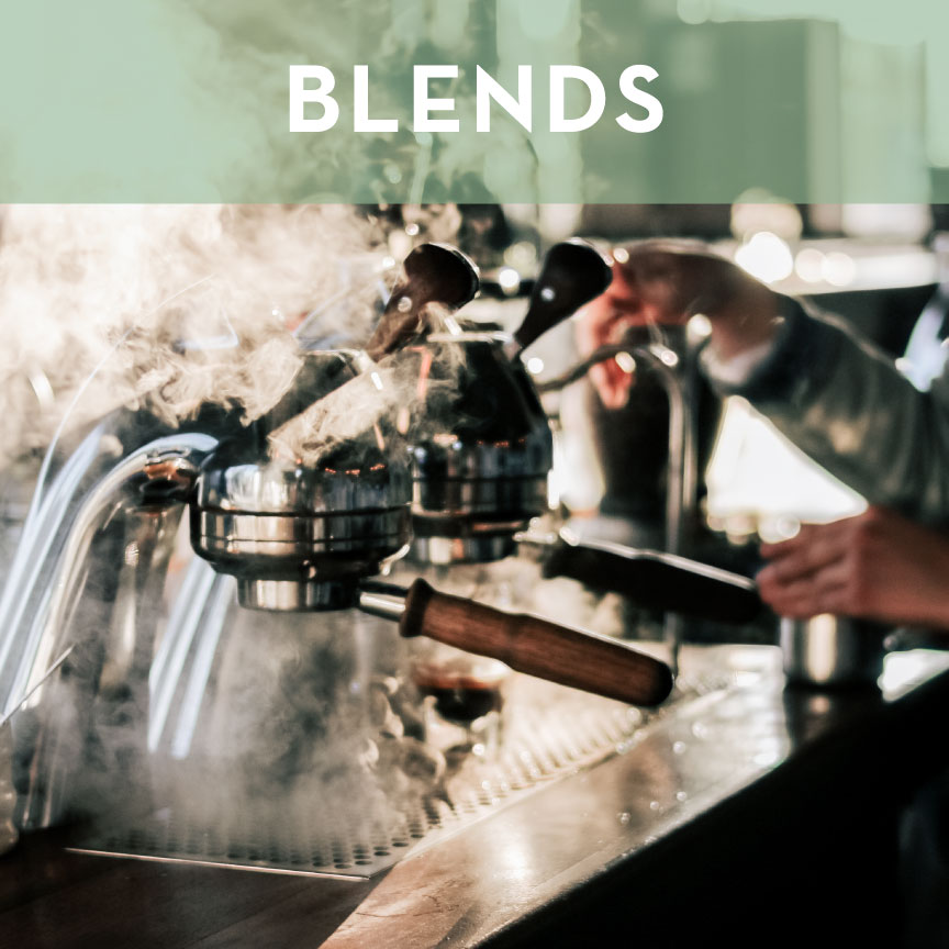 Because we specialize in single origin, you can rest assured that any blends we release contain the perfect balance of body and flavor.  In keeping with our love of single origin coffee, all of our blends are mixed post-roast to ensure that each bean brings its unique characteristics to the equation.