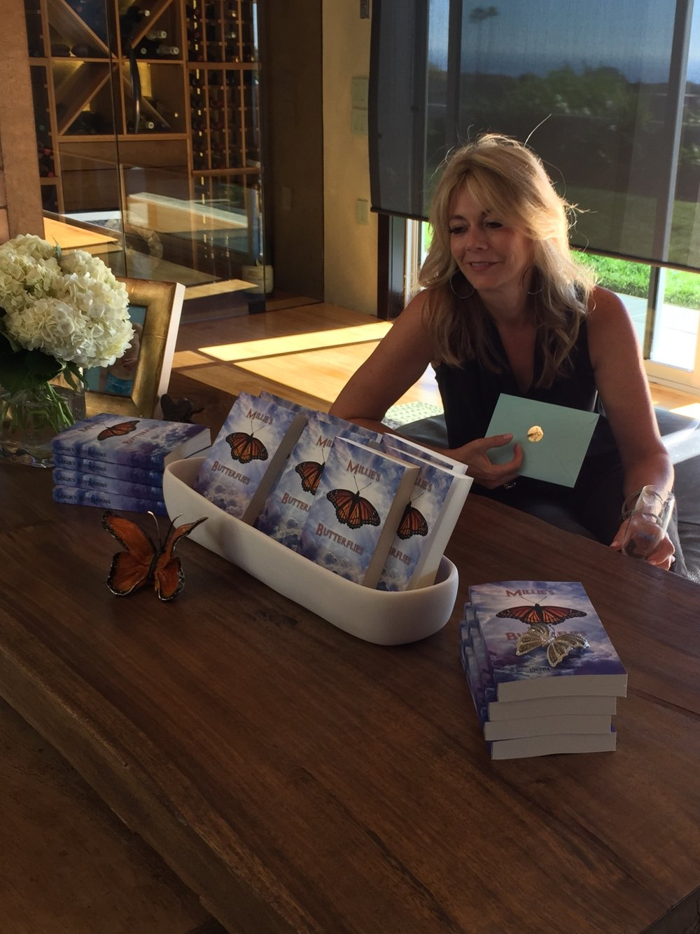 Nov 2016 - Book Release Party, Monarch Beach, CA