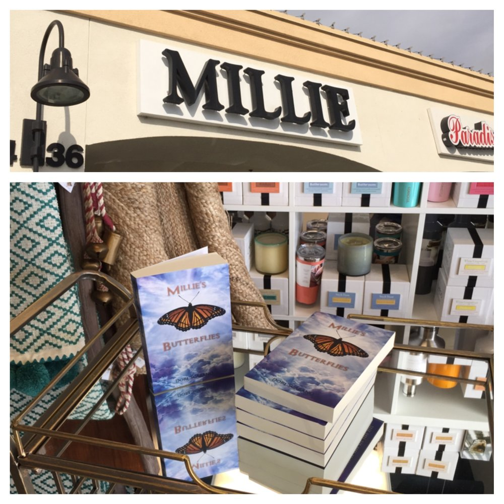 Available at Millie's Boutique, Monarch Beach, CA