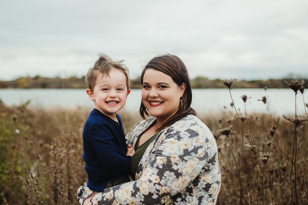 Liz is mom to a precocious 3 year old, Jay. He serves as our Tot-In-Chief and provides plenty of material for funny stories to be shared with our clients!   *Photo by Kayla E Photography*