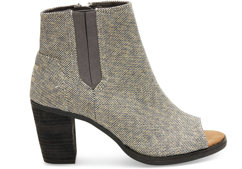 Booties from Toms (no longer available but same shoe, different color - here)