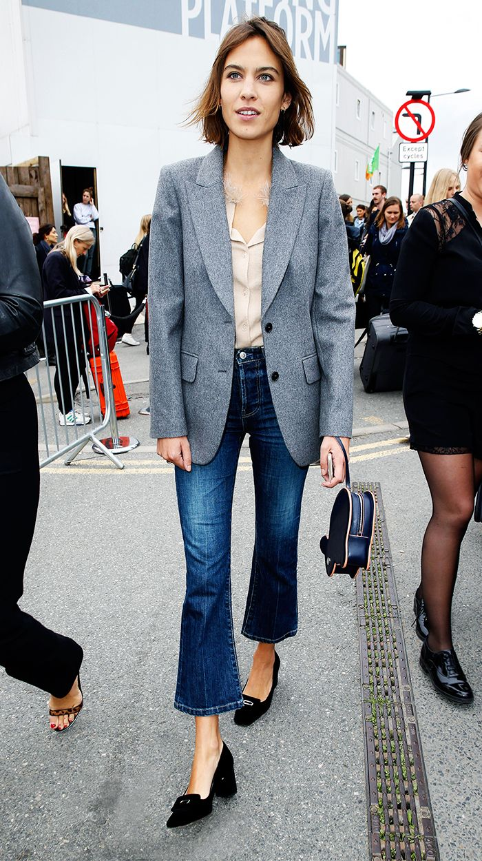 Alexa Chung. Click to buy similar style from Madewell