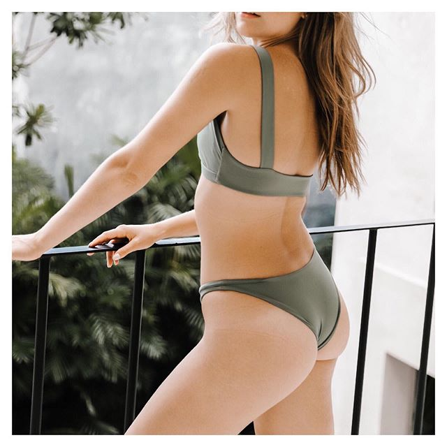 Comfort & simplicity in our Kailua-Kona Top + Doheny Bottom. #atollswim