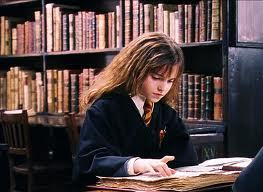Some light pleasure reading for our dear Hermione
