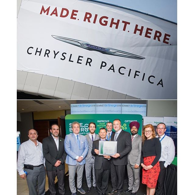 Congratulations to FCA's Windsor Assembly Plant! It is always a pleasure to work with you!  They won a Canadian Industry Partnership for Energy Conservation Leadership Award. The recognition comes for key Process and Technology Improvements from a plant initiative that resulted in an approximate 30% annual energy savings of existing chilled water system and reduced greenhouse gas emissions equivalent to almost 21 homes' energy use per annum.  @windsoritedotca @windsor_city @fiatchrysler_na  #energy #energymanagement #energysmart #energysystems #fca #fiat #chrysler #dodge #mopar  #pacifica #chryslerpacifica #caravan #dodgecaravan #minivan #leadership #snptech