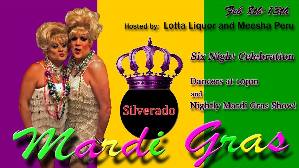 Six nights of beads, beards, booze, and balls at the Silverado Mardi Gras Celebration.