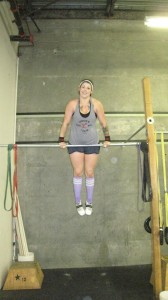 Megan's Bar Muscle-Up