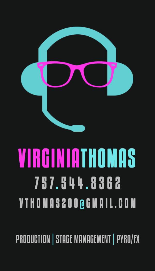Virginia Thomas - Business Card