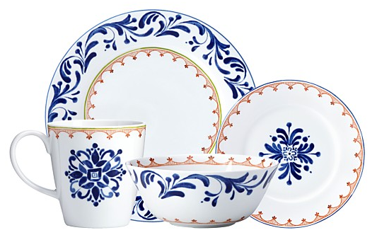 Northern Indigo Dinnerware for Dansk