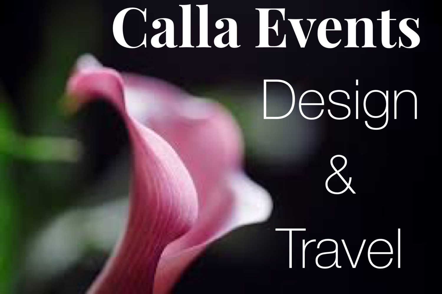 Calla Events, Design, & Travel ... 'Trends To Traditions'