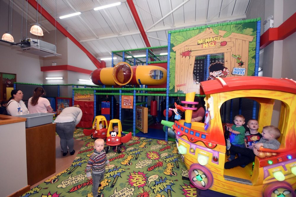 The Cinder Path - Soft Play and Restaurant in South Shields.   Image by Craig Leng