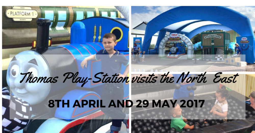 Thomas playstation visit to North East April and May 2017