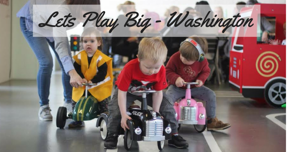 Lets Play Big Children's Role Play Washington Ride On Toys