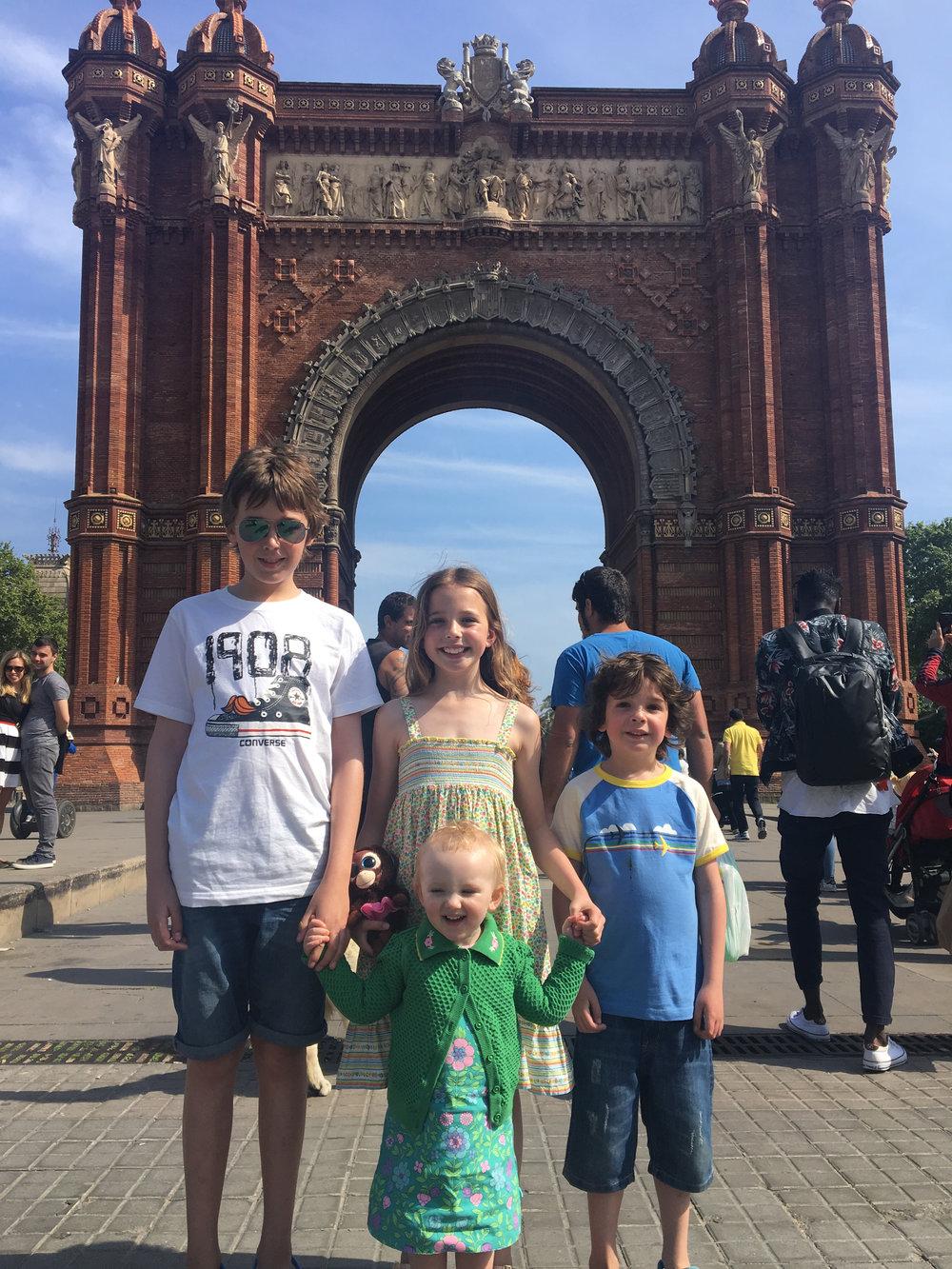 Isaac, Martha, Eli and Nancy