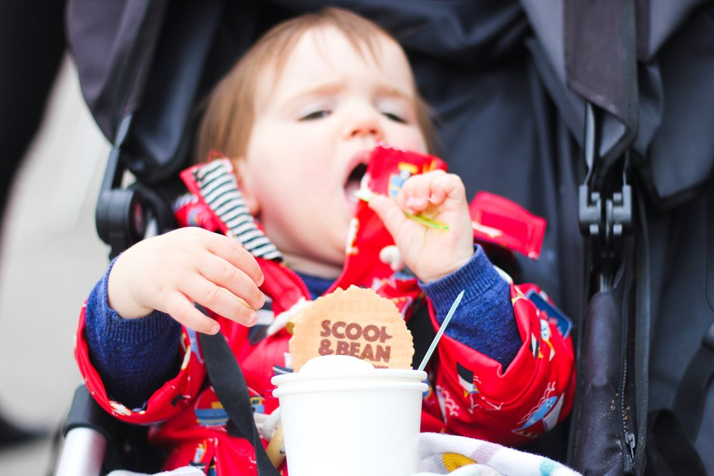 Scoop and bean ice cream South Shields