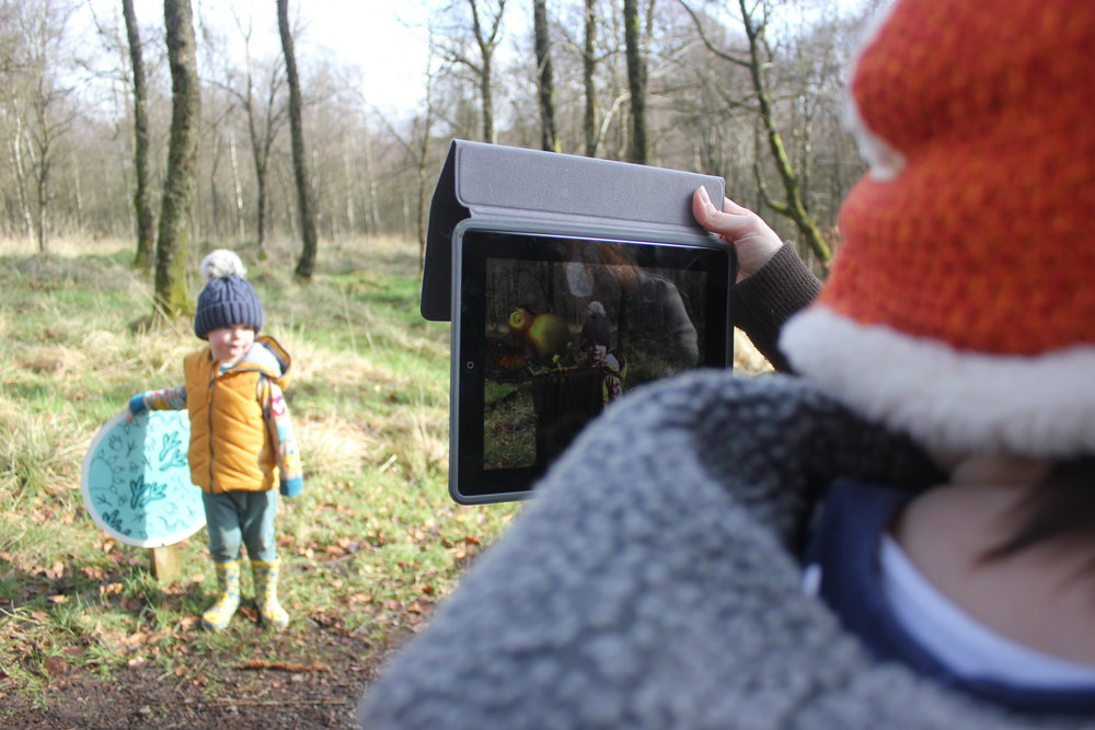 Kielder Forest Gruffalo Spotters Kids in Northumberland North East with children