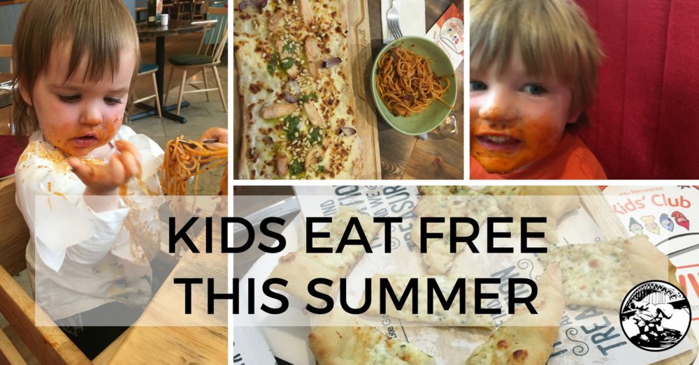 Kids eat free in Newcastle, Gateshead or North Tyneside Summer 2017 As you Like it Bella Italia Jamie's Italian