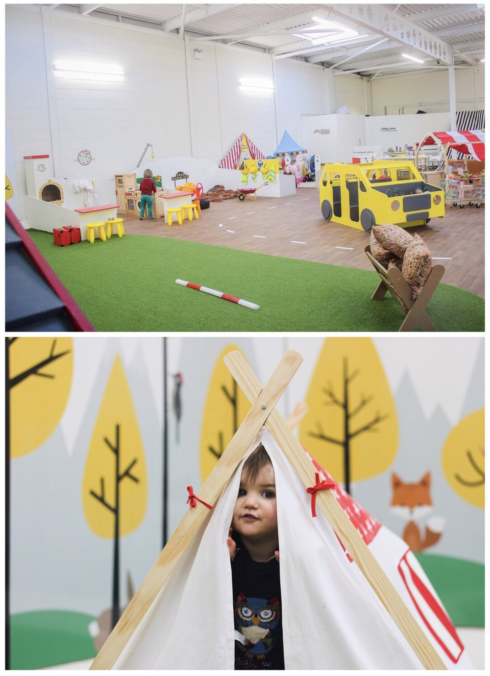 Little Land Play Role Play in Peterlee Teepee tent play area kids