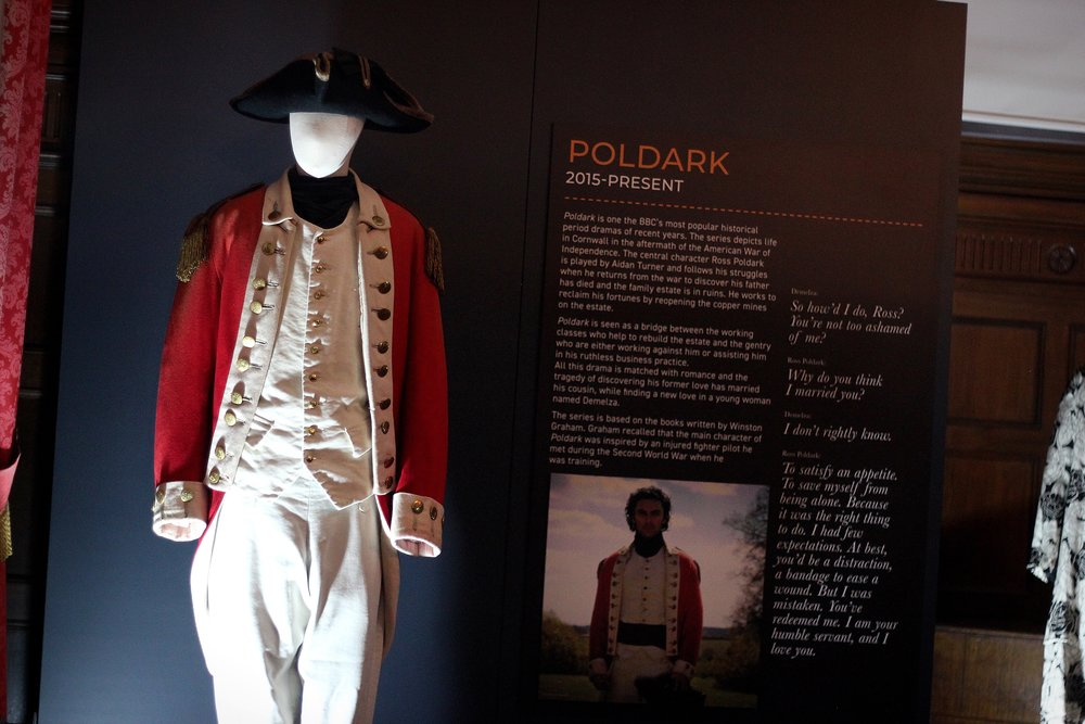 Preston Park Museum and Grounds - Behind the Seams - Poldark