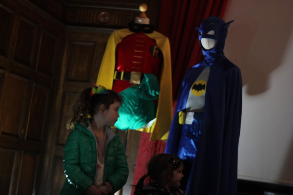 Superhero costumes from Only Fools and Horses