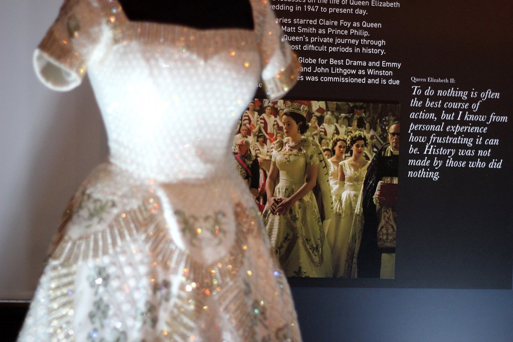 Preston Park Museum and Grounds - Behind the Seams - Costume from The Crown