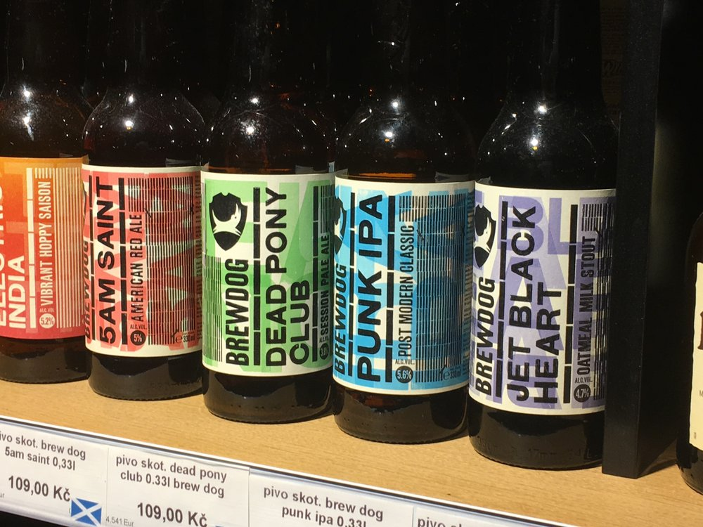 Selection of bottled beer for sale at Pipa Beer Story