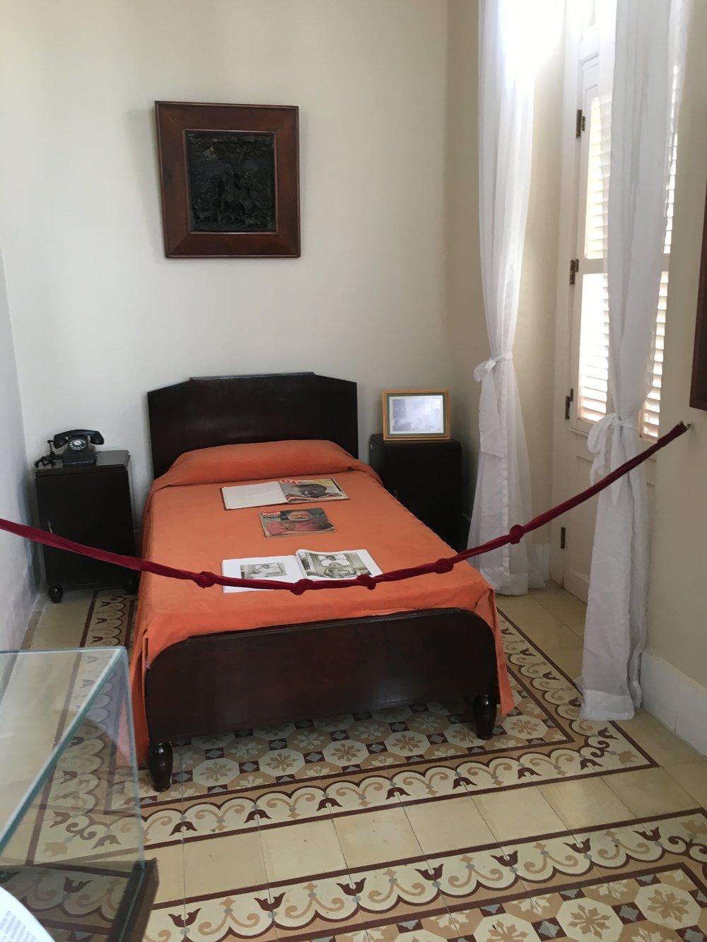 Hemingway's room in Hotel Ambrose