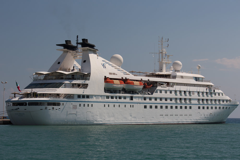WINDSTAR BREEZE - COSTA RICA & PANAMA CANAL