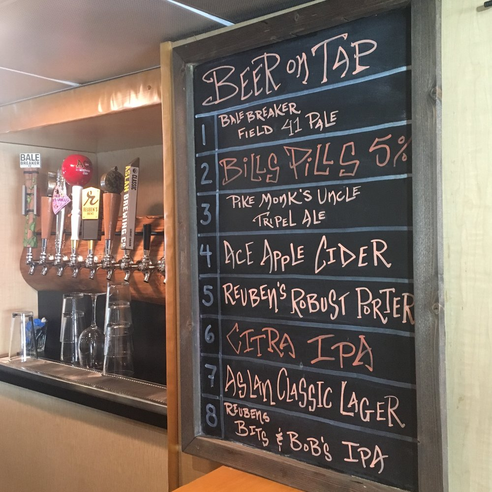 Plenty of options on a craft beer cruise.
