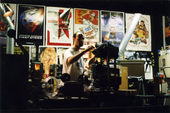 At the Brattle Theatre in Cambridge, MA, sometime in the late 90s