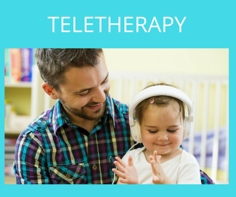 Teletherapy for OT & Speech treatment for children from infancy to 18 years of age. All consultations and therapy sessions are done remotely via secure live video chat and families have access to their therapists via email and other forms of digital communication.