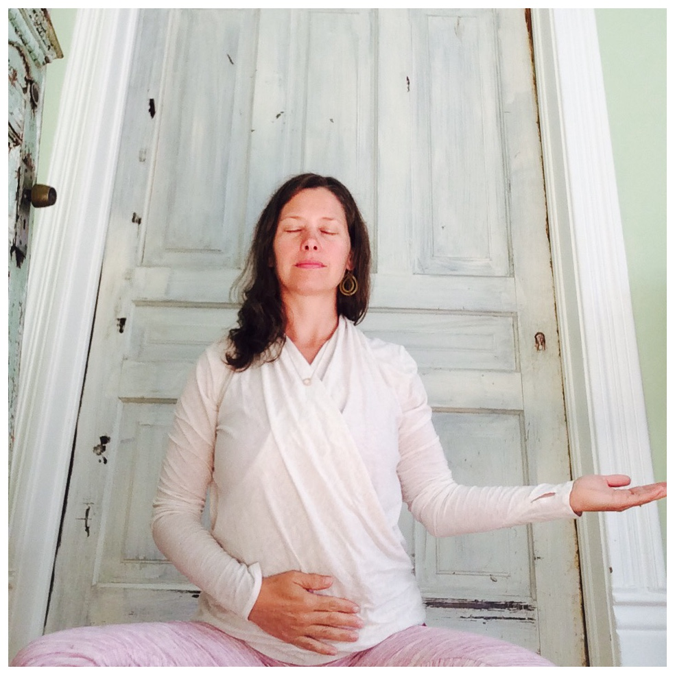 Svadhisthana mudra ~ to support self nourishment