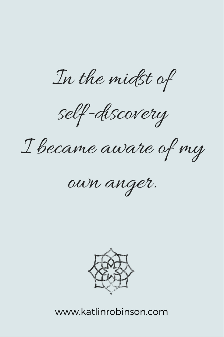 Moving Through Anger To Find Inner Peace