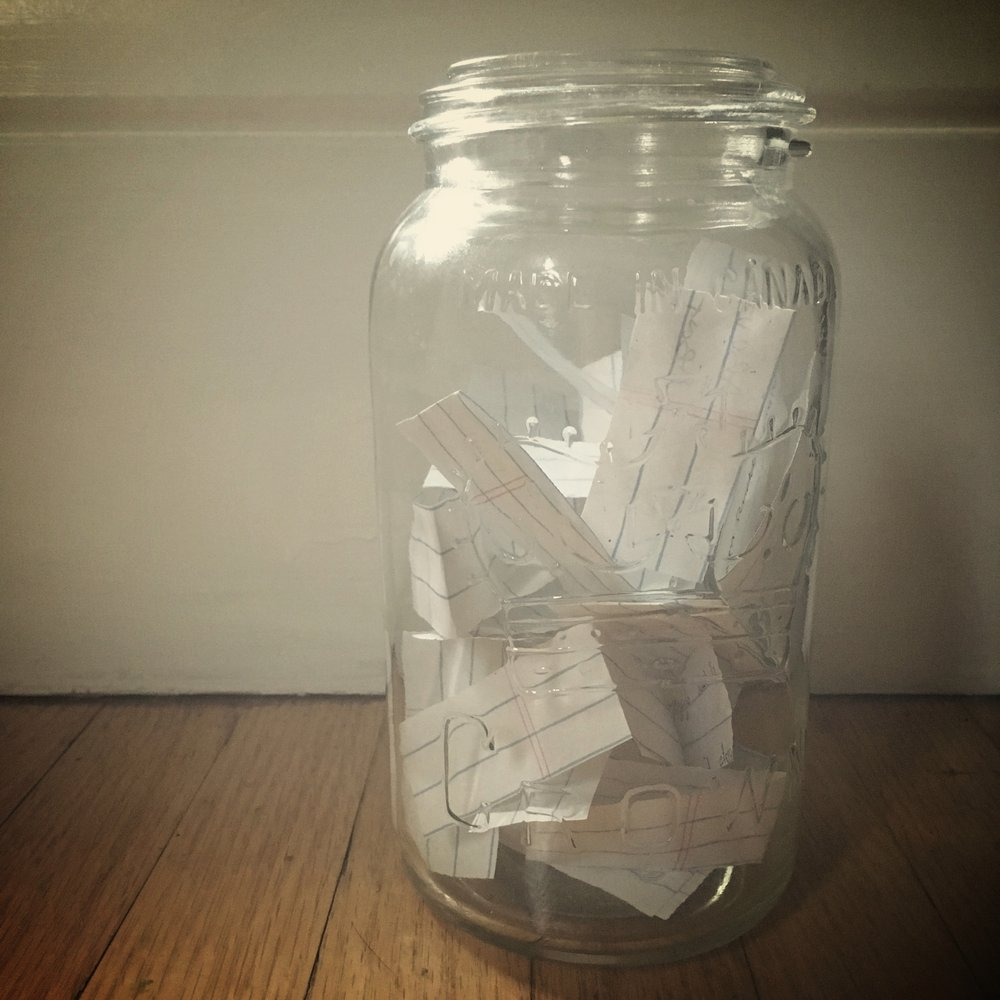 how to create a gratitude jar