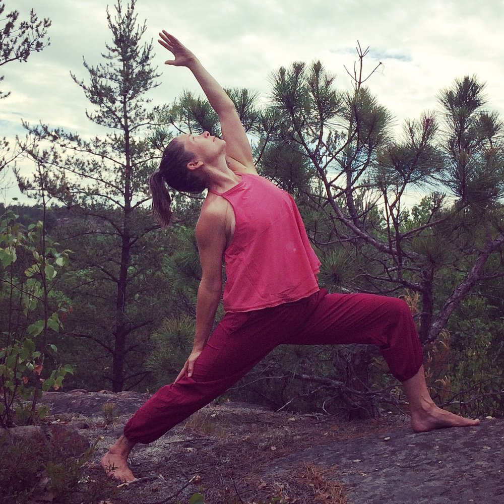 Katlin  ROBINSON is an RYT500 trained Yoga Teacher and Professional Yoga Therapist. She has been practicing Yoga and mindfulness for more than 15 years.